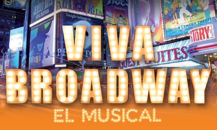 El Musical de Viva Broadway está en el Teatro Amaya de Madrid